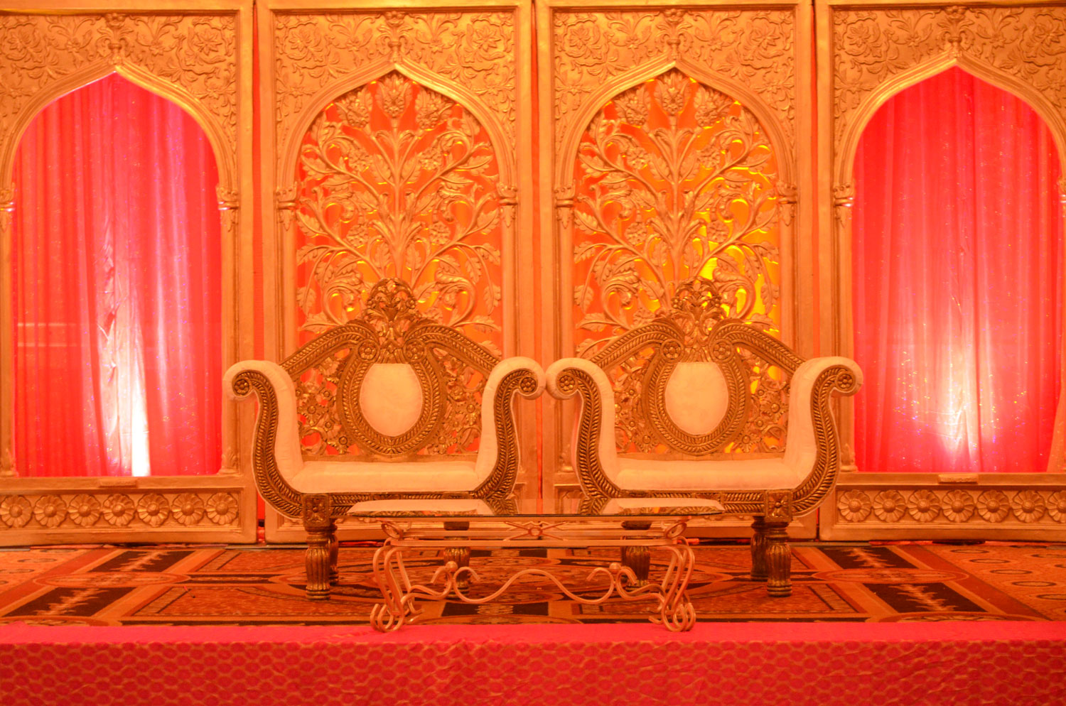 Indian wedding decor - pakistani wedding - nikkah decor