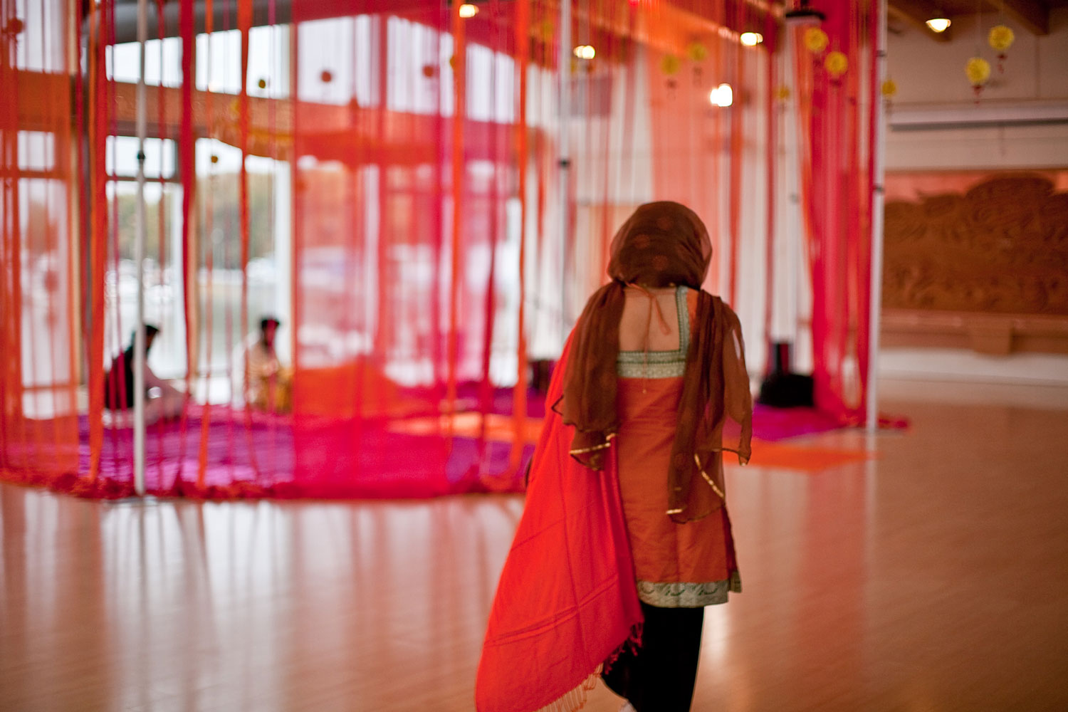 UBC Boathouse Sikh Wedding - indian wedding decor - decorations - outdoor sikh wedding