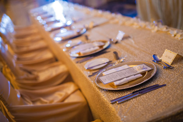 Fairmont Pacific Rim Vancouver - Wedding Decor - decorations - lighting - uplighting - chaircovers - tableclothes