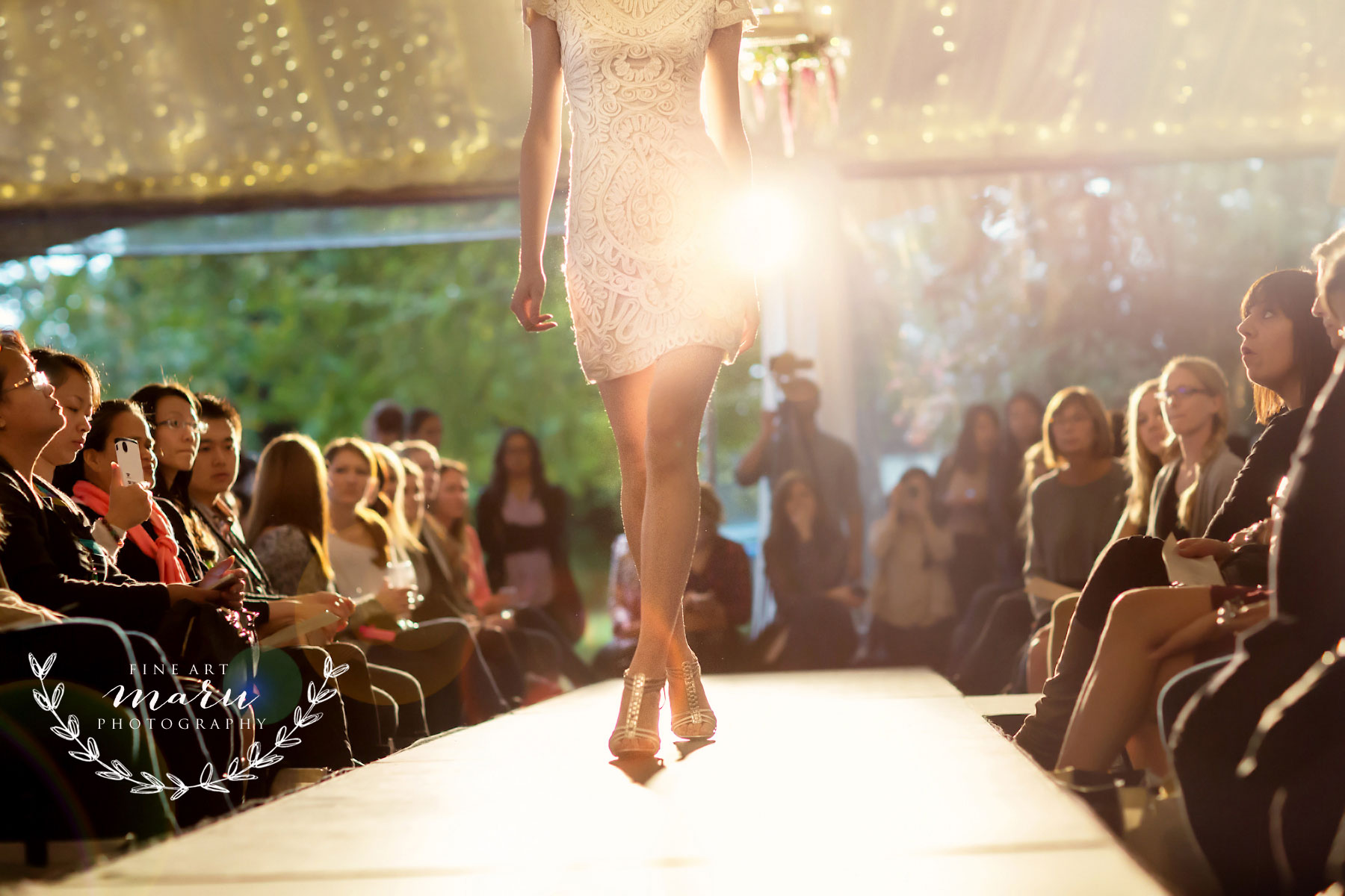 corporate event decor - fashion show design - catwalk - show decor