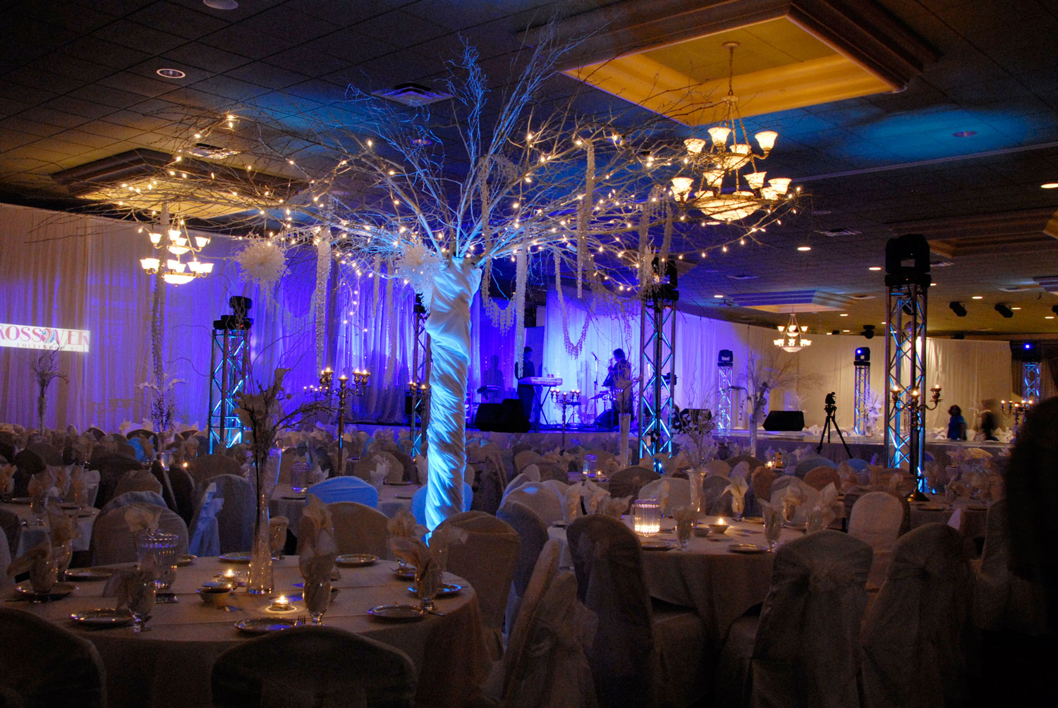 Fashion Show - Catwalk - corporate event - lighting - draping - decor - decorations