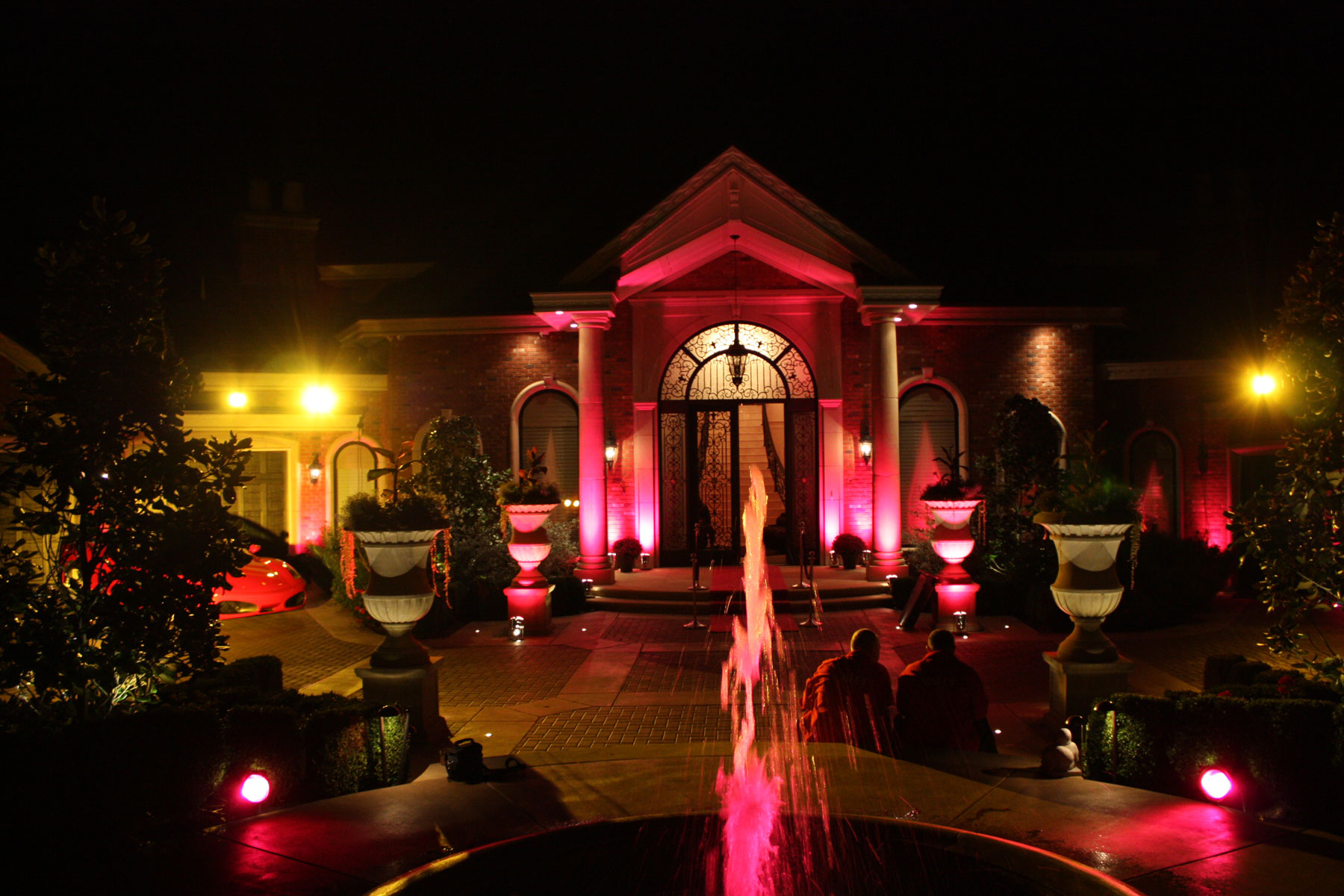 House Party - Home Events - Lighting - uplighting - vancouver