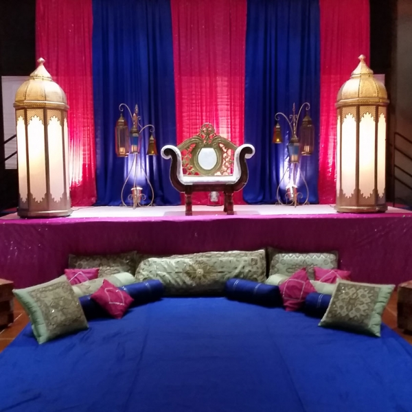 Aria Banquet Hall Indian Pre Party Decoration